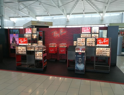 Ray Ban pop up store Larnaca airport