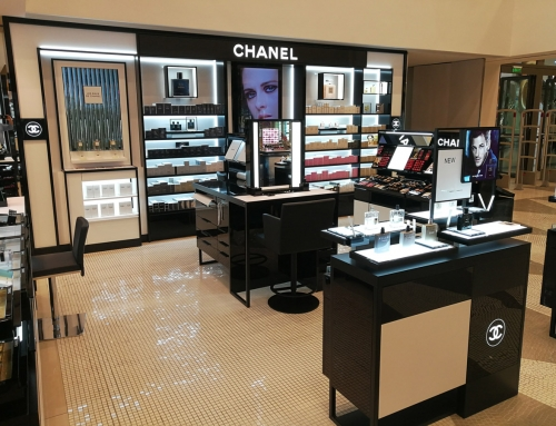 Chanel Golden Hall Mall Attica